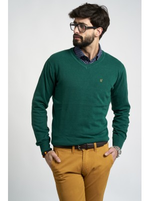 JERSEY PICO REGULAR FIT VERDE