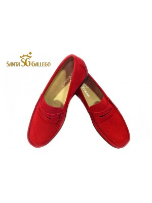 MOCASIN ROJO ANTIFAZ